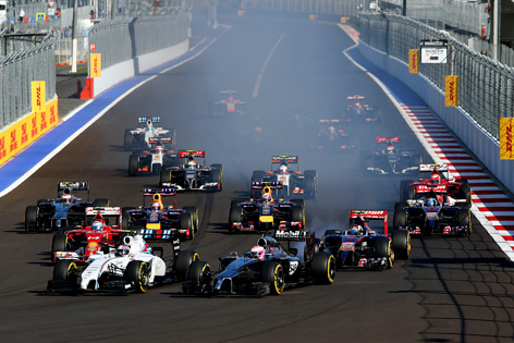 2015 年F1世界選手権 エントリー ...